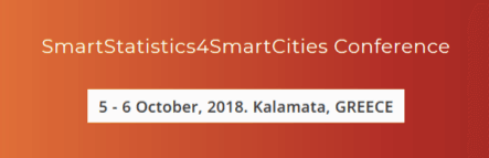 BigO to present at SmartCities4SmartStatistics conference in October 2018