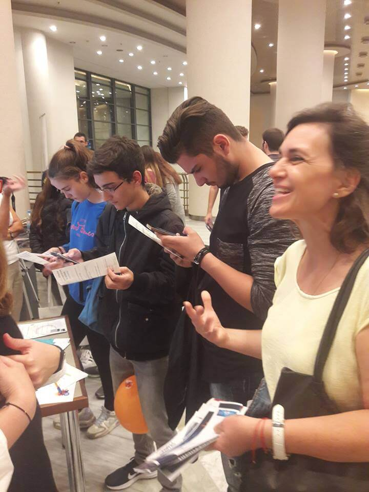 BigO at the Researchers Night 2018 in Thessaloniki, Greece
