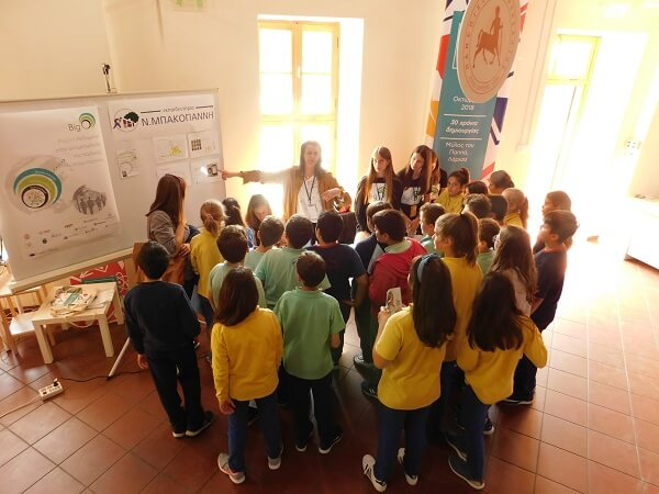 EKP presented BigO at the Thessaly Science Festival 2018