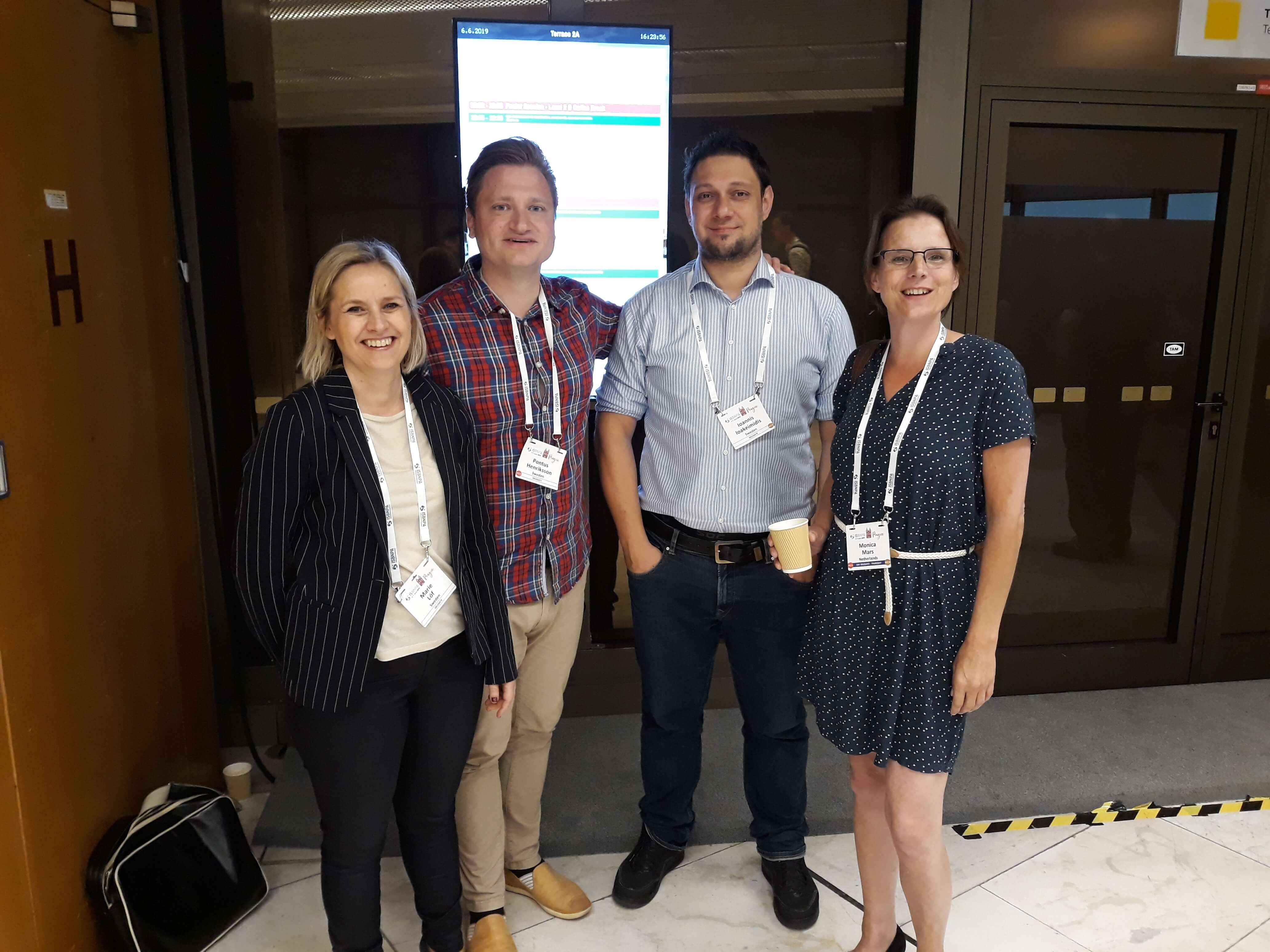 Researchers from BigO team up with researchers from KI for ISBNPA