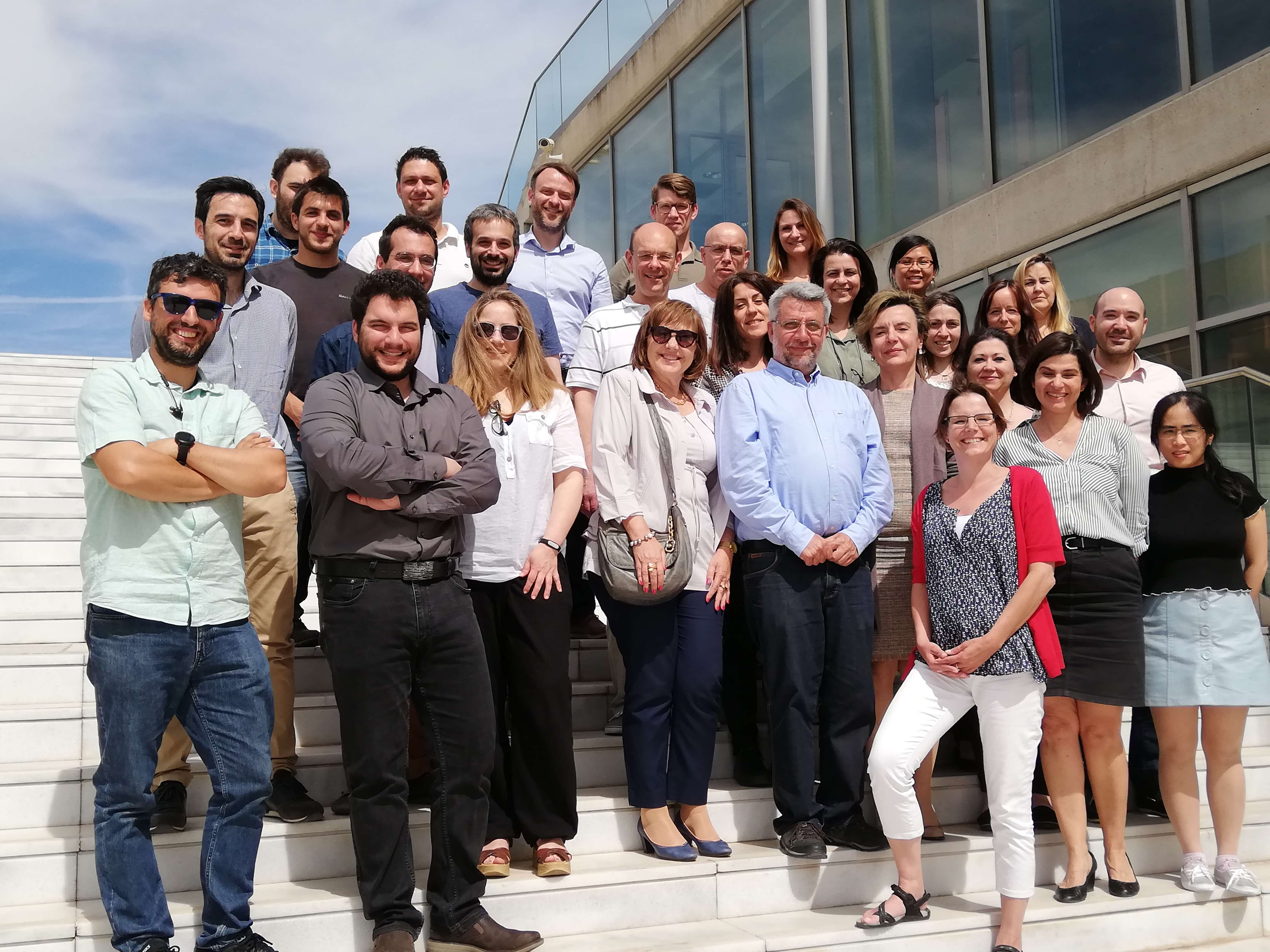 BigO team members reunited in Thessaloniki, Greece