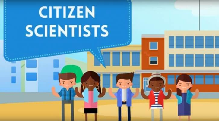 Citizen scientists